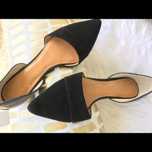 J Crew Suede & Leather Flats